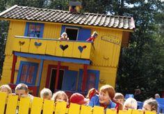 Astrid Lindgrens Värld in Vimmerby, Småland, waar je Pippi in het echt kunt zien!