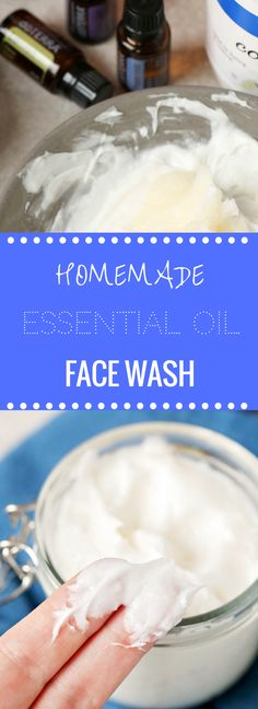 Easy Homemade Face Wash | All Natural | Essential Oils