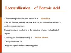 Define Cool, Benzoic Acid, Flask, How To Remove, Cool Stuff