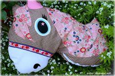Pferdchen-Kissen Rosi