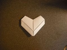 how to make a cute paper heart