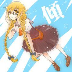 Tags: Anime, Pixiv, Bakemonogatari, Oshino Shinobu, Pixiv Id 583888