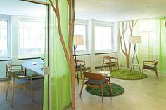 Дизайн интерьера офиса My Money Park от студии OOS