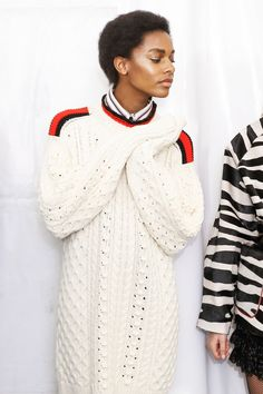 "fashion–victime: "" Karly Loyce backstage @ Isabel Marant Fall/Winter 2016 """