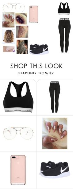 """""""Untitled #133"""" by narcoticluke20 ❤ liked on Polyvore featuring Calvin Klein and NIKE"""