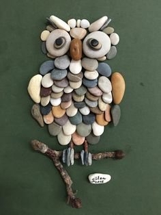 Creative Diy Ideas For Pebble Art Crafts! – Do It Yourself Samples Sponsored Sponsored Creative Diy Ideas For Pebble Art Crafts! – Do It Yourself Samples Owl Crafts, Diy And Crafts, Craft Projects, Crafts For Kids, Arts And Crafts, Creative Crafts, Metal Art Projects, Creative Art, Art Pierre