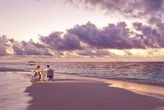 Romantic Private Dining Experience at Banyan Tree Vabbinfaru, #Maldives