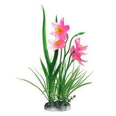New Plastic Aquarium Decorations Artificial Plants Fish Tank Grass Flower Ornament Decor Landscape. Category: Home & Garden.