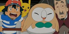 Lillie and Rowlet