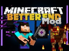 Minecraft Mod - Better End Mod - New Items, Biomes, Bosses and Mobs