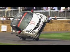You just watched a preview, so now for the actual world record attempt in the Brand New Nissan Juke-R 2.0. Will Terry beat his own record of 2mins 55secs on 2 wheels at the Goodwood Festival of Speed 2015?