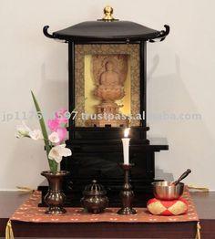 Photos Of Buddhist Alters Akazawachoyo Buddhist Altar And Buddhist Fittings Of Soka Gakkai