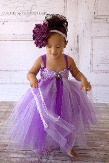 Eva Jane Doll Baby Tutu Flower Girl Dress by MyGirlzInspirations, $48.00  ** Perfect for my girls!! Even the bow!