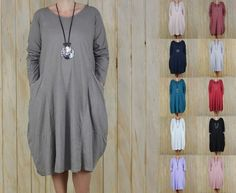 Quirky Cotton Tunic Dress