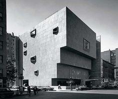 Whitney Museum of American Art by Marcel Breuer