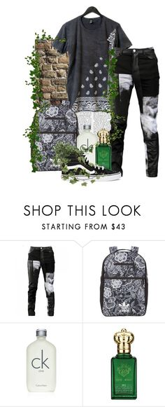 """Overgrowth"" by nymph373 ❤ liked on Polyvore featuring Nicki Minaj, Any Old Iron, adidas Originals, Calvin Klein, Clive Christian, Vans, men's fashion and menswear"