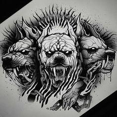 Evil Tattoos, Black Ink Tattoos, Dope Tattoos, Animal Tattoos, Body Art Tattoos, Acab Tattoo, Dark Art Tattoo, Alien Tattoo, Chicano Tattoos Sleeve