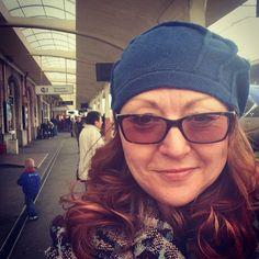Hat 32 - At St Brieuc off to Paris! A bit cold;
