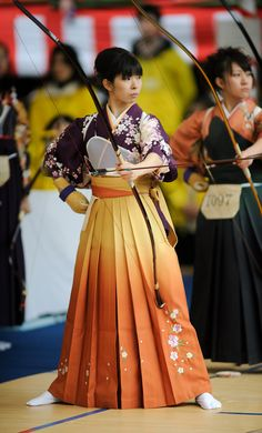 Japanese Archery: Now It's The Ladies' Turn