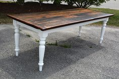 Reclaimed Barn Wood Harvest Parson Spindle Sawbuck Wood Base X Dining Table + Furniture Kitchener Toronto Guelph Hamilton Reclaimed Wood Furniture, Reclaimed Barn Wood, Metal Furniture, Repurposed Furniture, Table Furniture, Harvest Tables, Trestle Dining Tables, Wood And Metal, Wood Table