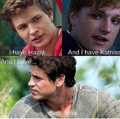 Lol. Sometimes I feel bad for Gale but me never tried hard enough to get her back...it's just da truth!