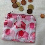 Coin Purse elephants - The Supermums Craft Fair