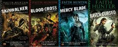Jane Yellowrock series by Faith Hunter  Much enjoyed this series....waiting for the new ones