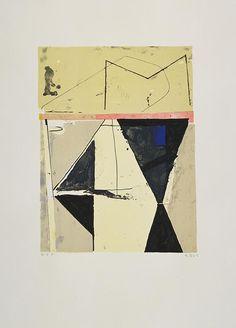 """""""M"""" - Richard Diebenkorn, 1986"""