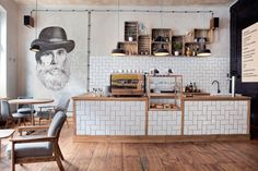 Minister Cafe, Poznań by Ostecx Créative, via Behance
