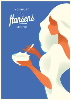 Attractive Editorial Illustrated Posters by Mads Berg – Fubiz Media