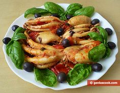 """Octopus Moschatus """"Moscardini Affrogati""""   Dietary Cookery   Genius cook - Healthy Nutrition, Tasty Food, Simple Recipes"""