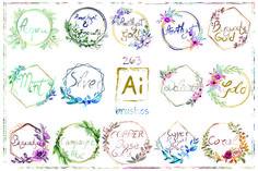 Brush Sets, Logo Background, Scene Creator, Pattern And Decoration, Journal Cards, Design Bundles, Free Design, Design Elements, Adobe Illustrator