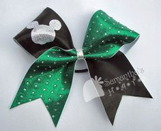 Disney Inspired Cheer Bow - Available in several different color combinations