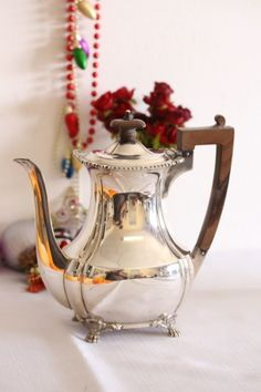 """A magnificent classic vintage English made hallmarked """"Mappin & Webb"""" sterling silver coffee pot in the Silver category was listed for on 10 Jan at by Lifespace Homeware in Gauteng"""