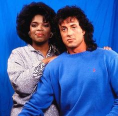 My favorite peoples @Oprah@officialslystallone by team.sly