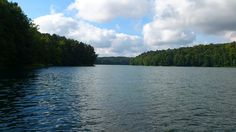 The lake at Lagow