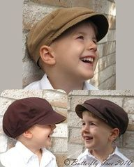 This is the pattern for the boys hats for the wedding.