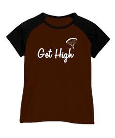 Get High Skydiving Women Raglan T-Shirt