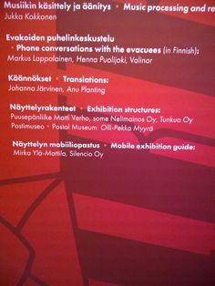 Olin mukana tekemässä: Postimuseon ja Mediamuseo Rupriikin Liikkeelle - Uuteen kotiin -näyttelyn mobiiliopastus.