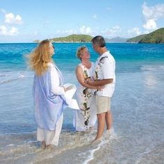 Clear Ocean Water, Barefoot Beach, Virgin Islands, Vows, Wedding Decorations, Cover Up, Wedding Day, Beach Weddings, Couple Photos