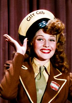 'Cover Girl' (1944) Director: Charles Vidor. Rusty Parker / Maribelle Hicks (flashback sequence) (Rita Hayworth).