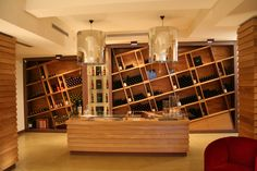Damilano Wineshop, Barolo, Piedmont, Italy. Project by Studio Boglietti www.studioboglietti.it