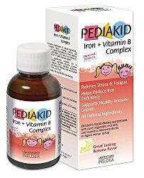 Pediakid Iron Vitamin B Complex All New Formula Natural Vitamins Mineral Supplement to Help Children with Fatigue Tiredness and Frail Conditions >>> To view further for this item, visit the image link. Vitamins For Anxiety, Natural Supplements For Anxiety, Vitamins For Kids, Best Supplements, Nutritional Supplements, Protein Supplements, Iron Vitamin, Vitamin B12, Vitamin B Complex