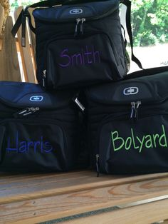 Items similar to Ogio Cooler 18-24 can cooler monogrammed set of 8 on Etsy 601fb7faffe57