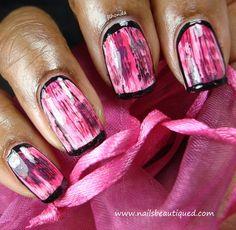 Abstract Nail Design - Cool!