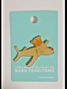 NEW Auth Yoshitomo Nara Pin Badge pub king pins kaikai kiki Supreme MOMA POP F/S #YoshitomoNara