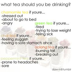 What Tea Should You Be Drinking