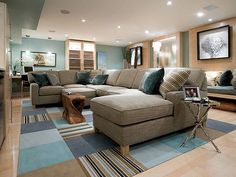 Love the color scheme! And that couch!!!