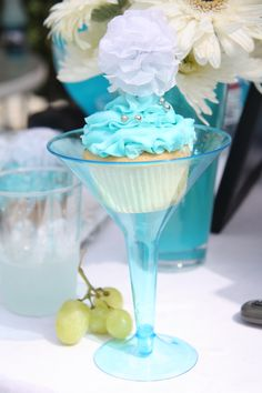 Las Vegas Pool Party themed Bridal Shower-Dessert