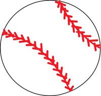 Sports Rugs-Baseball Shape Rug